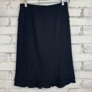 Etro | Black Italian Skirt | Size 4